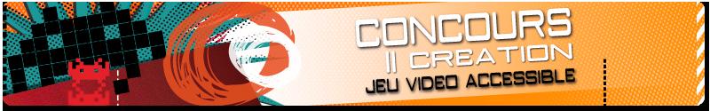 Bannière du concours de jeux vidéo