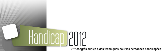 Logo de la conference Handicap 2012, version large.
